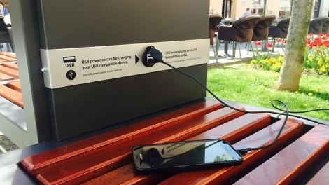 napelemes mobiltöltő pad 2