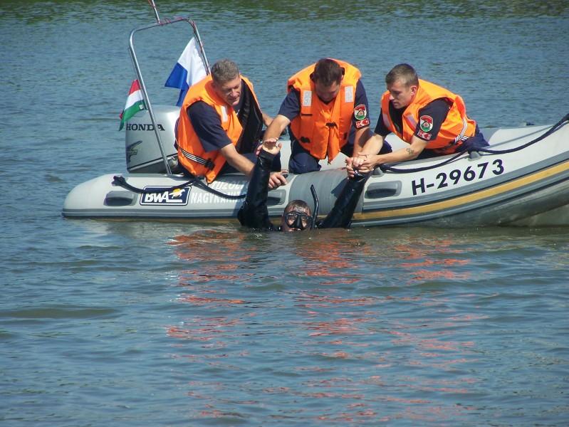 nagykanizsa tűzoltóság vízből mentés 2
