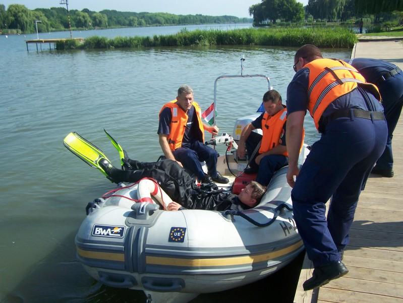 nagykanizsa tűzoltóság vízből mentés 4