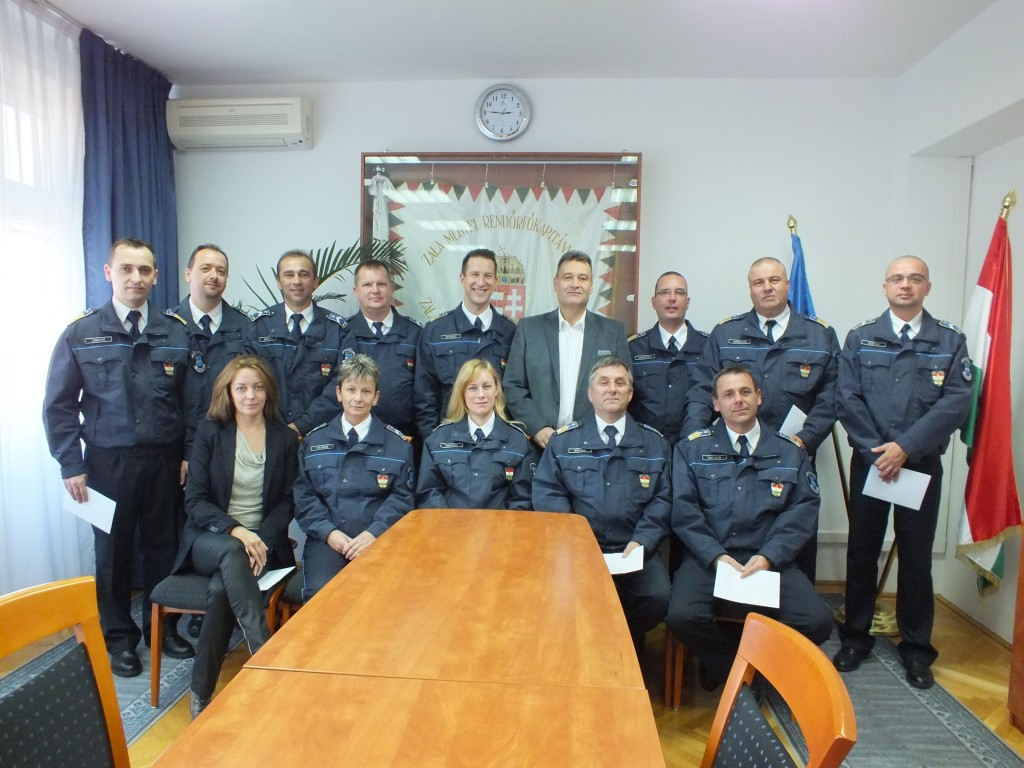 nagykanizsa rendőr kitüntetés