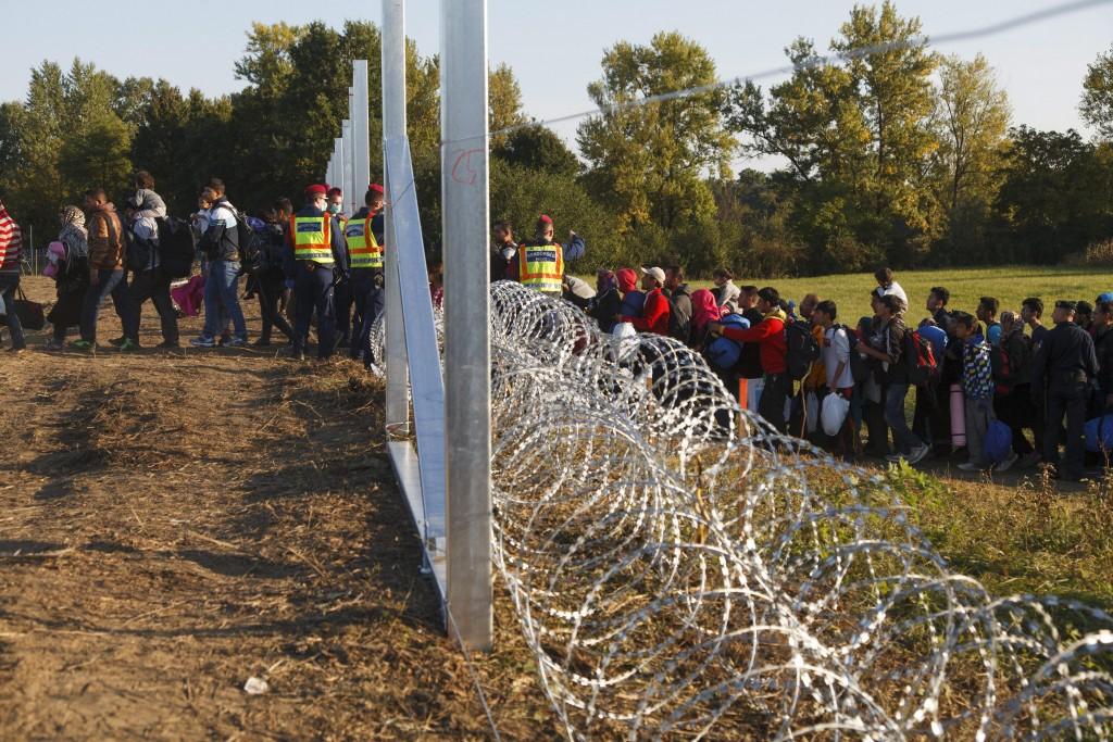 zákány menekültek