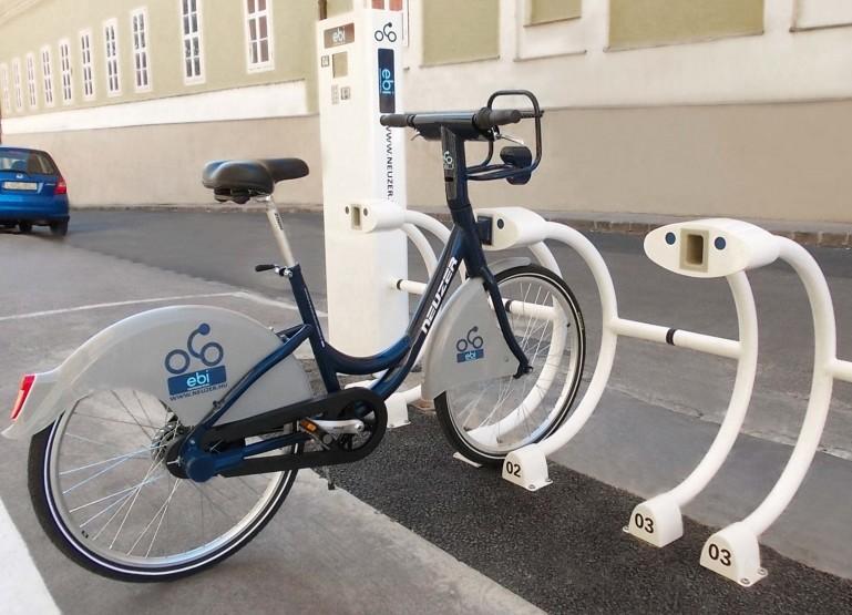 kerékpár dokkoló
