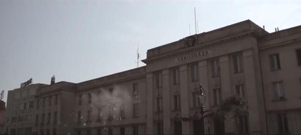 nagykanizsa városháza támadás