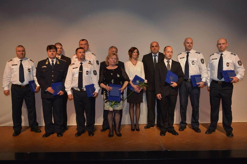 az év zalai rendőre 2016