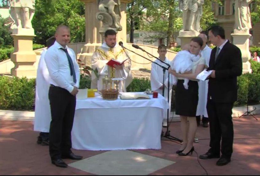 nagykanizsa erzsébet tér szentmise
