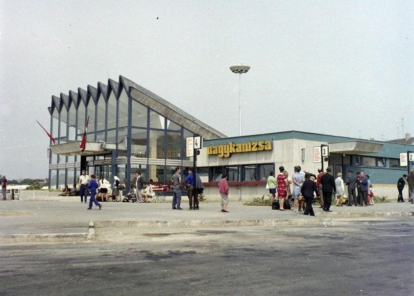 nagykanizsa buszmegálló régen