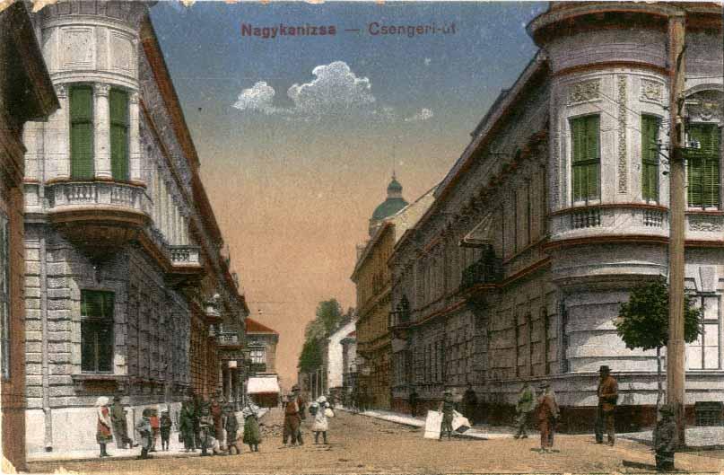 nagykanizsa 1900-as évek 1