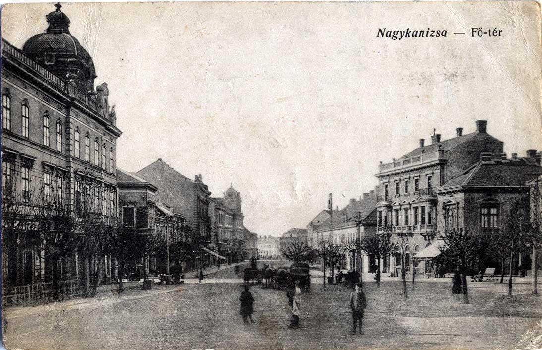 nagykanizsa 1900-as évek 2