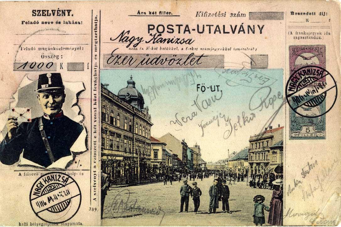 nagykanizsa képeslap 1