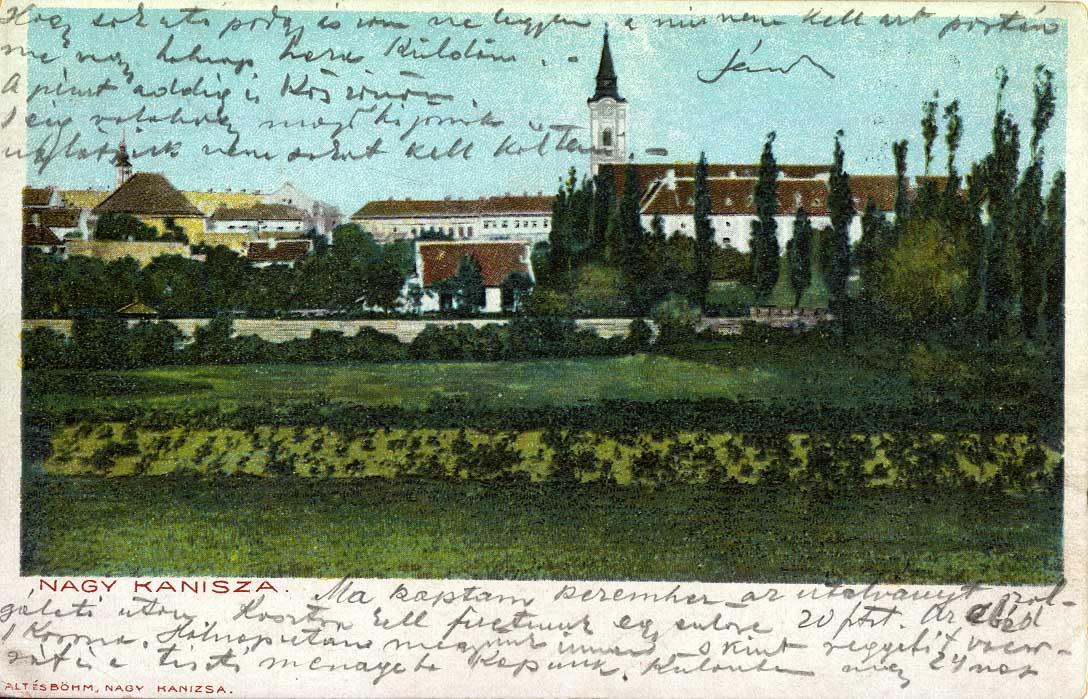 nagykanizsa képeslap 2